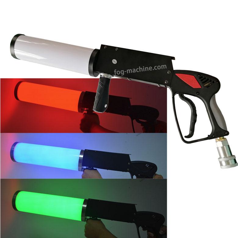 JET02 LED二氧化碳DJ枪 LED气柱枪